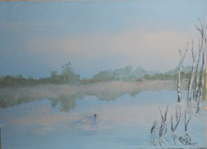 Beaver Pond Morning 12x16.JPG