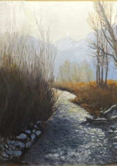 Cottonwood Creek, November Afternoon 12x16.jpg
