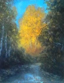 In the Woods Upper Cottonwood Creek. 16x20JPG.JPG